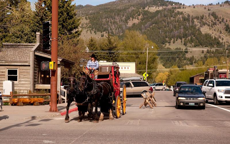Jackson Hole Stagecoach