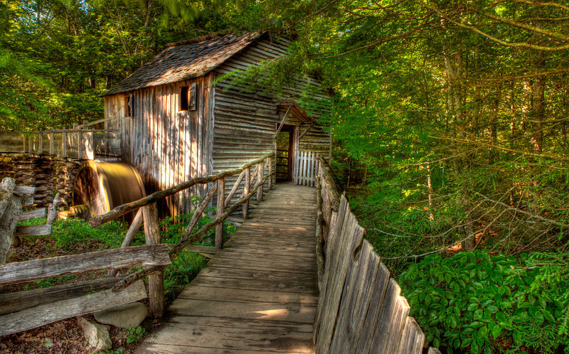 John P. Cable Grist Mill in Cades Cove
