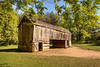 Barn at Gregg-Cable house in Cades Cove