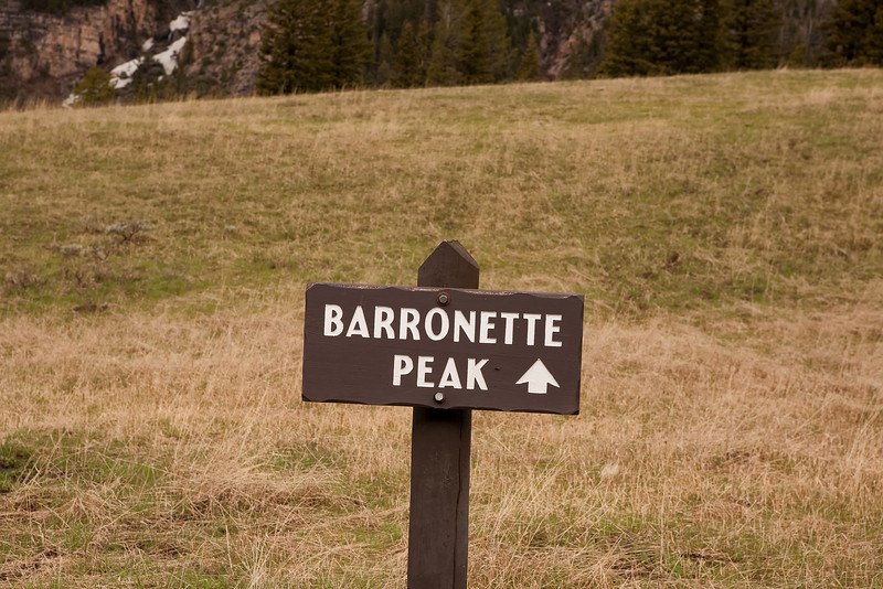 Barronette Peak near Northeast Entrance