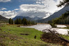 Soda Butte Creek in Lamar Valley