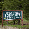 Mesa Falls - Targhee National Forest in Idaho