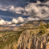 View along Chief Joseph Scenic Highway 9 - Wyoming