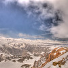 View from Beartooth Highway 4