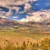 View along Chief Joseph Scenic Highway 5 - Wyoming