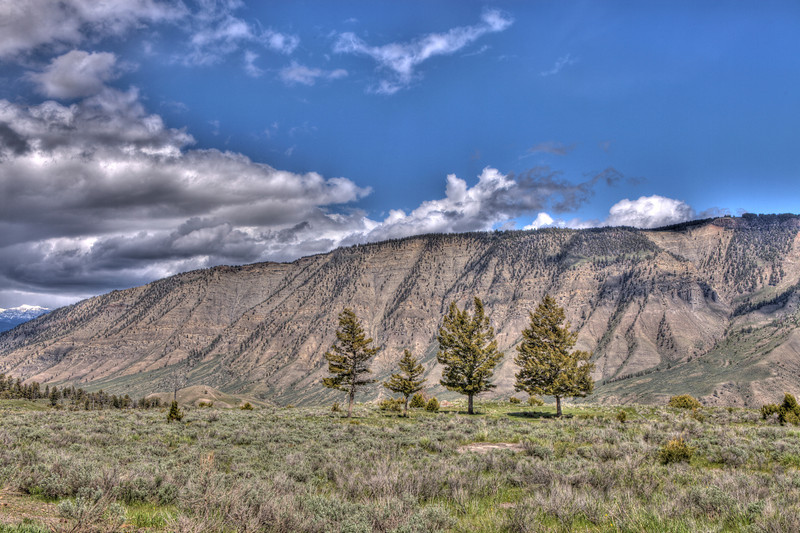 Mountain Range near Gardiner