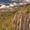 View along Chief Joseph Scenic Highway 10 - Wyoming