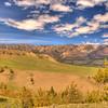View along Chief Joseph Scenic Highway 3 - Wyoming