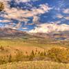 View along Chief Joseph Scenic Highway 4 - Wyoming