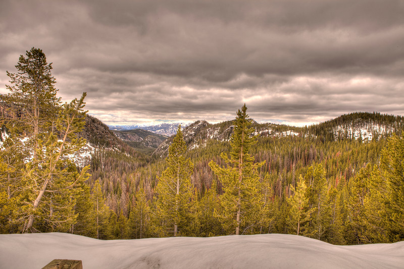 View from Beartooth Highway 1
