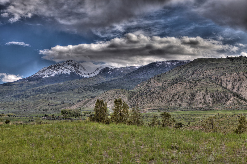 Mountains near Gardiner