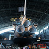 Back view of Space Shuttle