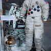Space Suit and Helmet