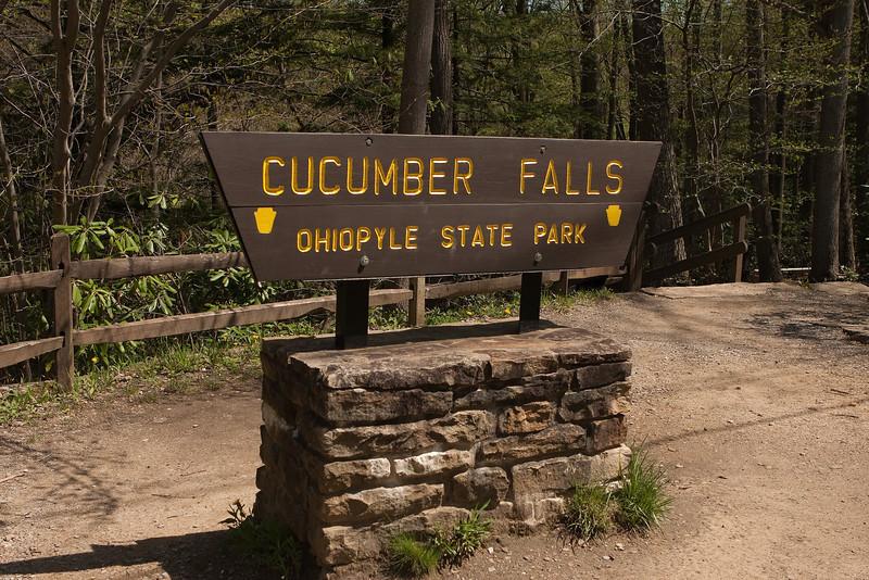 Cucumber Falls Entrance