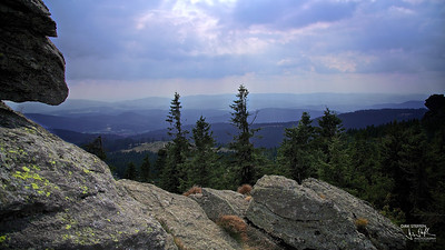 View from Großer Arber