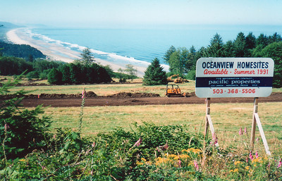 After the golf course closed in the 1980s, developers bought the land for homesites.