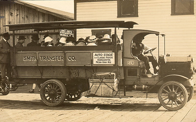 In Nehalem, visitors boarded the auto stage for the ride to the new resorts of Neahkahnie, Classic Ridge and Manzanita.