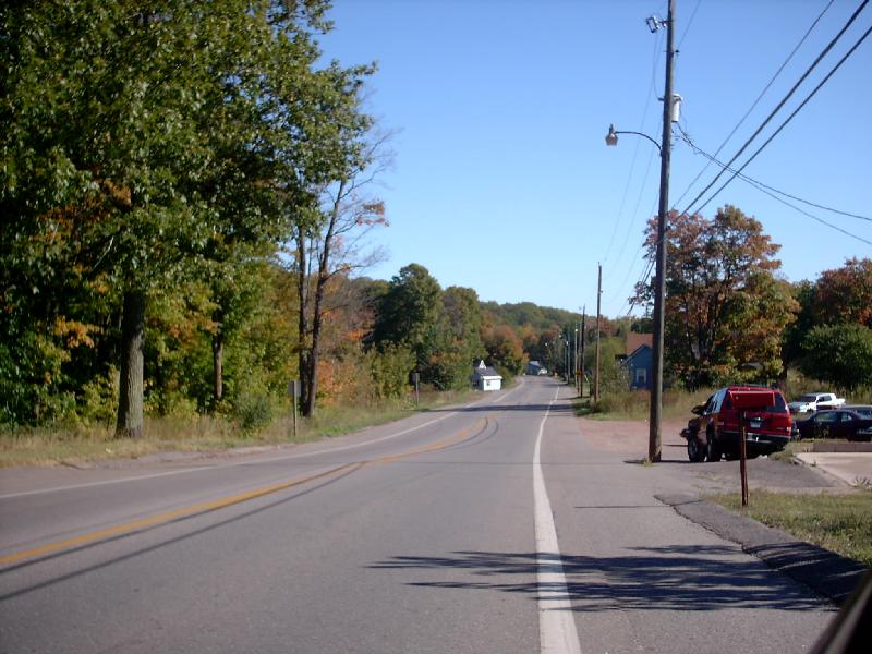 <b>Business 28</b> - Coming into the south side of Negaunee on Bus. 28.