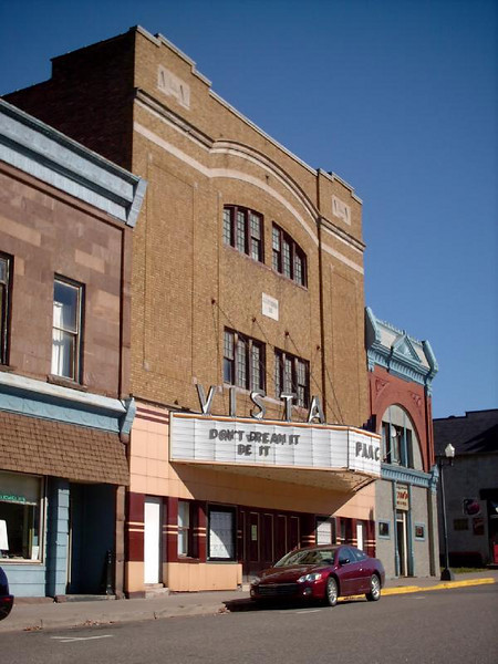 <b>Vista Theatre</b> - Iron Street, Downtown Negaunee