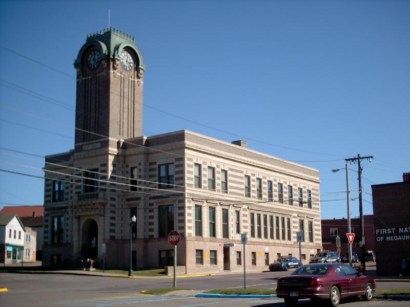 <b>City Hall</b> - Houses government offices, the library, and police department.