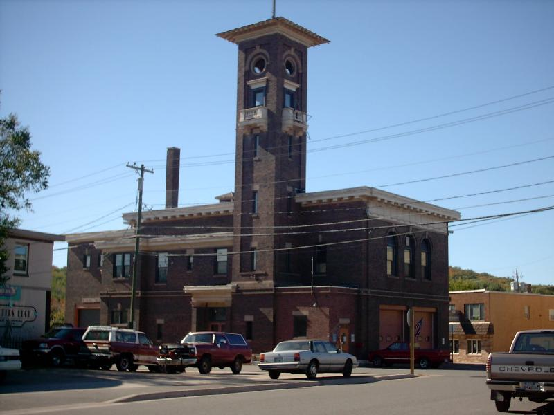 <b>Old Fire Hall</b> - Downtown Negaunee