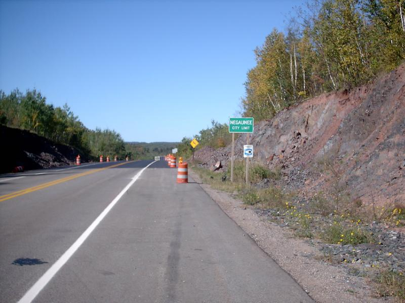 <b>County Road 480</b> - Entering town from the south and east.