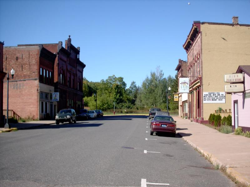 <b>West Iron Street</b> - Downtown Negaunee