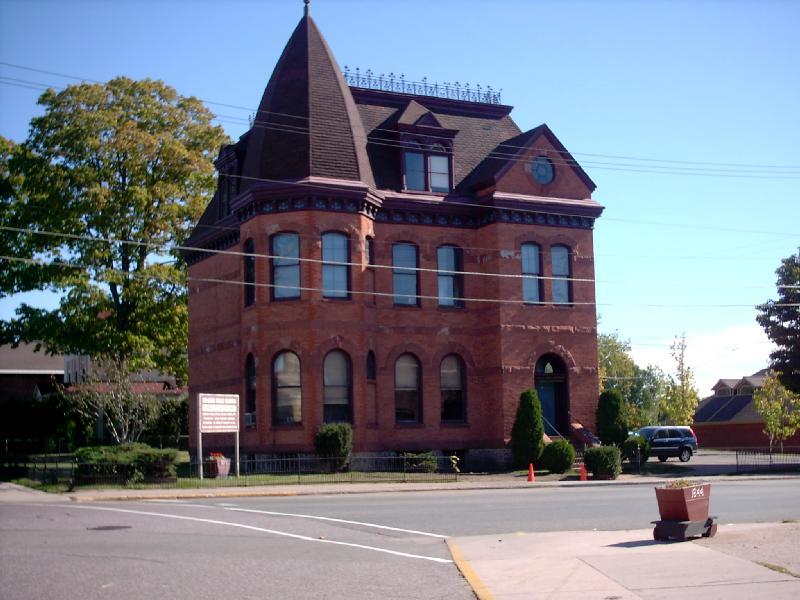 <b>Negaunee Schools Administration Building</b> - Corner of Pioneer and Main.