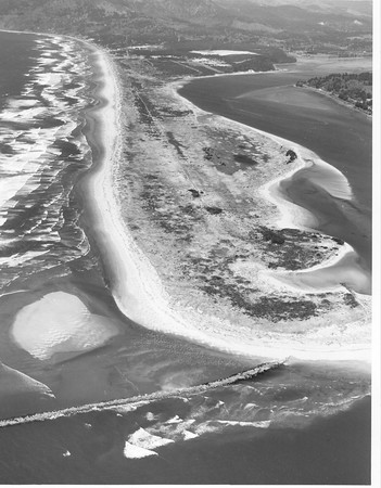 By the early 1970s, the officials of the Port of Nehalem had persuaded the U S Army Corps of Engineers that jetties at the end of the spit needed repair and upgrading.