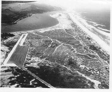 Before grading for the park, dunes formed a varied landscape.