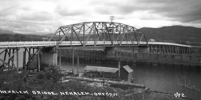 The Highway 101 swing bridge lasted from the 1930s to the 1980s, when it was replaced by the current structure.