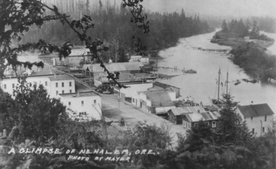 Shortly after Nehalem became a city in 1899, businesses began moving south to today's location.