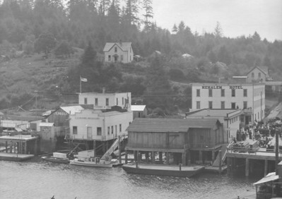 South waterfront in 1914.
