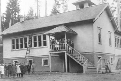 New grade school in Uppertown.
