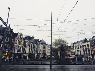 Gloomy and wet