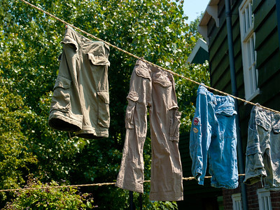 Laundry Day in Marken
