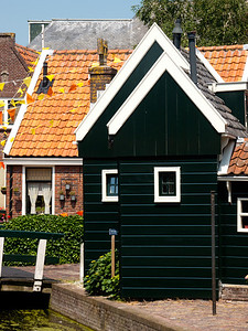 Houses in Marken