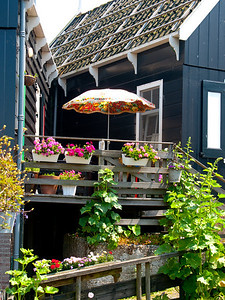 Patio in Marken