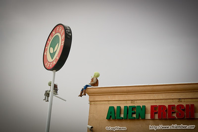 Aliens,  Baker California