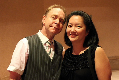 Meeting Mr. Teller after their show at the Rio. September 2011.