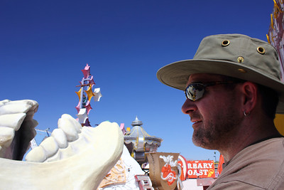 The Neon Boneyard in Las Vegas. September 2011.