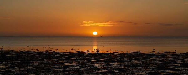 Another amazing sunset. Ouano, New Caledonia.