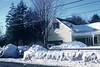 Winter scenery, 430 Main Street, Acton, Massachusetts, 1950's
