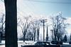 Winter scenery, Acton, Massachusetts, 1950's