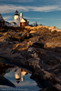 Pemaquid Point Lighthouse - Reflection