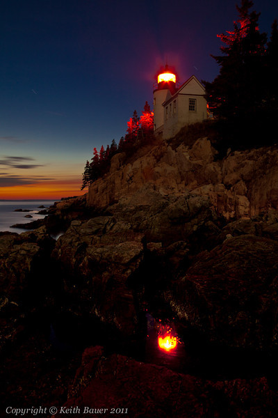Bass Harbor Lighthouse - Late Evening #1