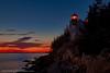 Bass Harbor Lighthouse - Late Evening #2