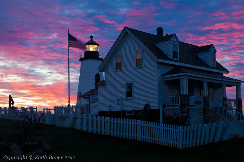 Pemaquid Point Lighthouse - Sunrise