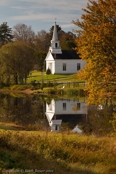 Church Reflections in the Fall