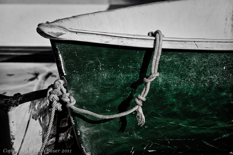 The Old Green boat